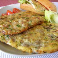 Pečená masová omeleta se sýrem recept