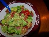Avokádový salát s fetou recept