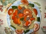 Těstoviny s kuřecími jatýrky a masíčkem recept