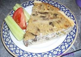 Houbový quiche  skvělý slaný koláč recept