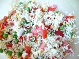 Těstovinový salát z instantních těstovín recept