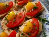 Pomazánka z rybiček a pečené zeleniny recept