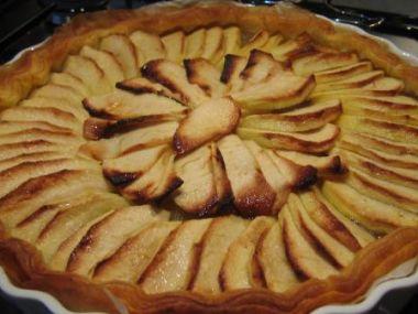 Jablečný koláč po francouzsku
