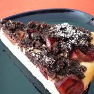Švestkový koláč s mákem recept