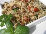 Houbovo kuskusový salát recept