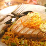 Opečený tuňák se sardelovým máslem recept