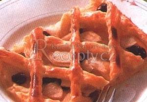 Mřížkový koláč s jablky