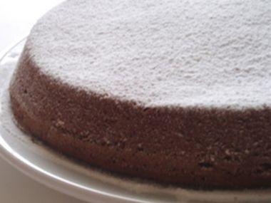 Jednoduchý-Čokoládový dort