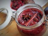 Voňavé švestky v červeném víně recept