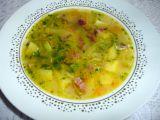 Pórková polévka se šunkou a mrkví recept