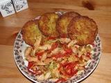 Bramboráčky se směsí masa a zeleniny recept
