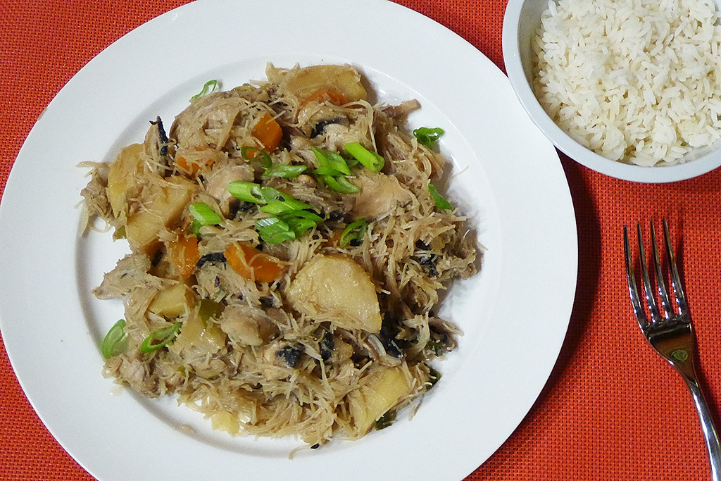 Dušené kuře se zeleninou po korejsku recept