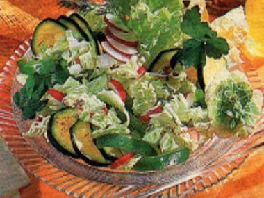Čendův salát z čínského zelí