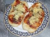 Zapiekanky  skvělá žampionová pizza svačinka recept ...