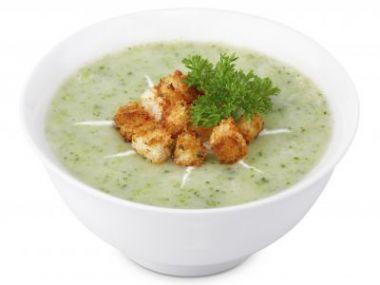 Recept Krémová brokolicovo-květáková polévka