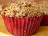 Posypané švestkové muffiny recept