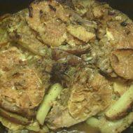 Vepřové kotletky na pomerančích s brambory recept