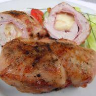Plněná kuřecí prsa na grilu recept