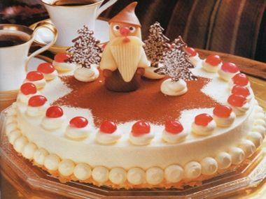 Mikulášský dort s višňovou náplní