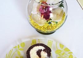 Kokosová roláda NEPEČENÁ recept