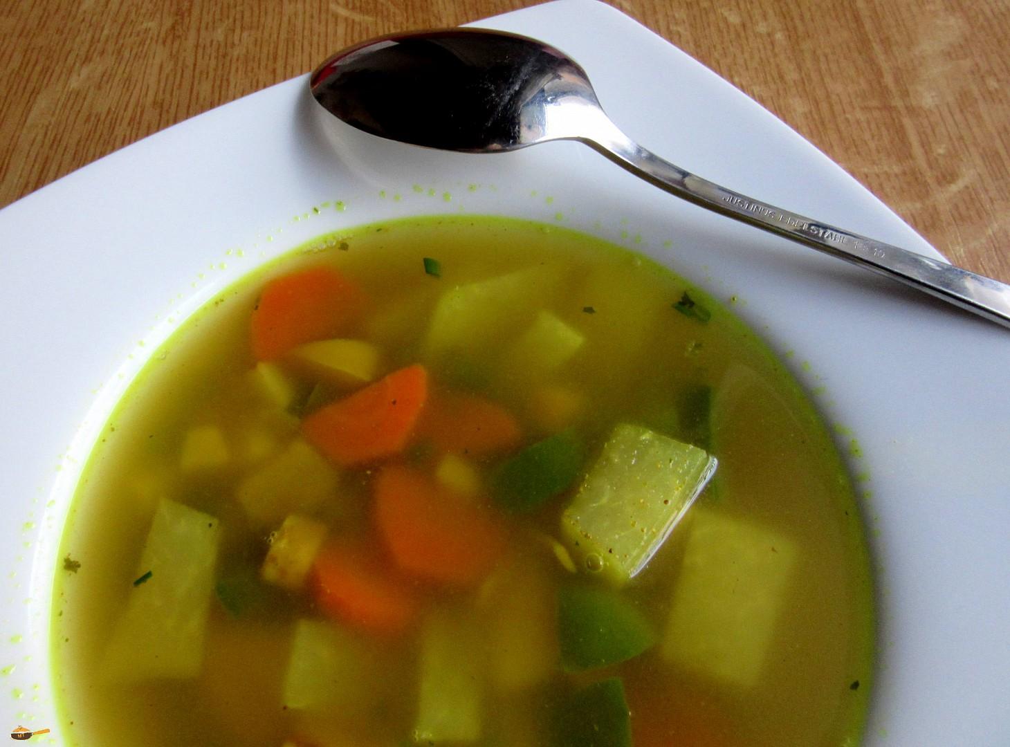 Zeleninová pikantní polévka recept