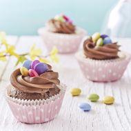 Velikonoční cupcakes s lentilkami recept