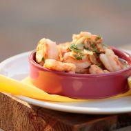 Krevety s česnekovým olejem recept