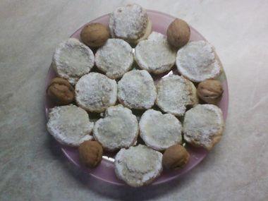 Rychlé ořechové koláčky