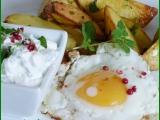 Bylinkové brambory s tvarohem a vejci recept