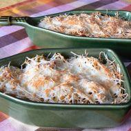 Těstoviny pod sýrem recept