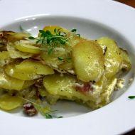 Smetanové brambory s pancettou recept
