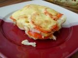 Zapečený květák s rajčaty a bramborem recept