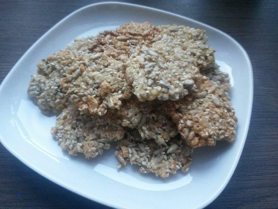 Oříškovo-semínkové sušenky recept