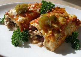 Kuřecí jalapeňo enchiladas ( zapečené) recept