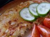 Omeleta s paprikou a cibulí recept
