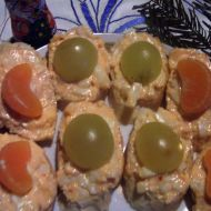 Pikantní česnekovo-sýrová pomazánka recept