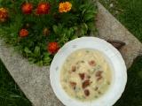 Drožďová polévka s medvědím česnekem recept