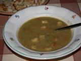 Hrašková polévka rychlá recept