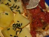 Tolstolobik na rajčatech recept