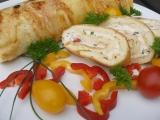 Pečená sýrová roláda recept