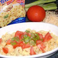 Tortelliny se sýrem a rajčaty recept