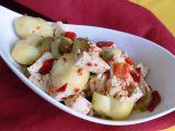 Bramborový salát s tofu recept