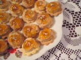 Ořechovo-mandlové kytičky recept