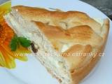 Kynutý mřížkový koláč s tvarohem recept
