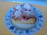 Ovocný osvěžující koláč s tvarohem recept
