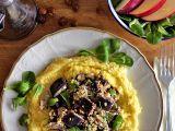 Citronový lilek s tofuricottou, houbami a lískovými ořechy recept ...