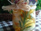 Naložený česnek recept