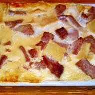 Zapékané šunkové flíčky se sýrovo-smetanovou zálivkou recept ...