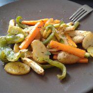 Zeleninové hranolky recept