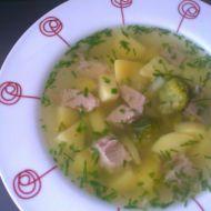 Polévka z vepřového masa a zeleniny recept